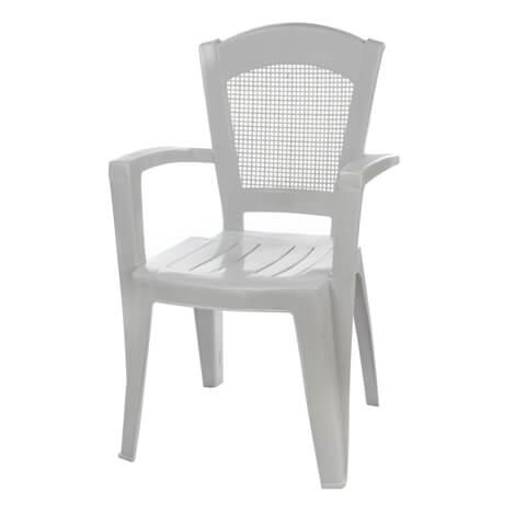 כיסא גינה נמרוד לבן