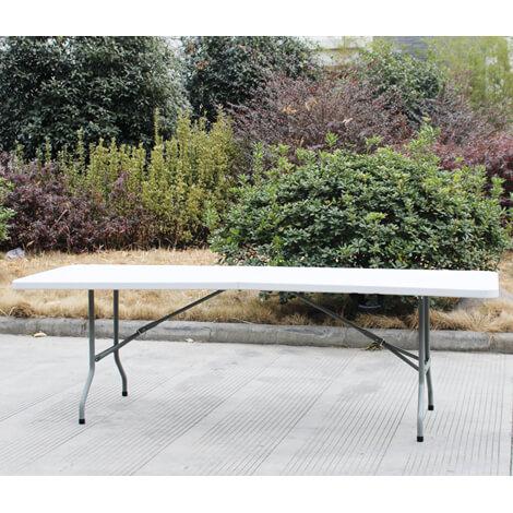"""מקסי עומר – שולחן מתקפל נישא רב שימושי 240 ס""""מ"""