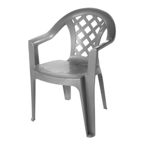 כיסא גינה נועם אפור