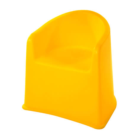TAI-TAI KIDS' YELLOW CHAIR